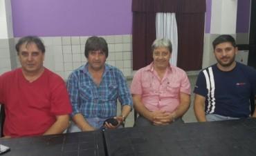 INAUGURACION BUSTO DE NESTOR CARLOS KIRCHENR LA MESA POLITICO SINDICAL CAMPANA ZARATE