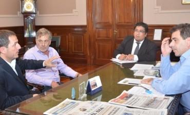 Abella se reunió con el Ministro de Seguridad y avanzaron en la llegada de más efectivos de la bonaerense