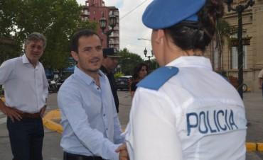"""""""La Policía Local llegará ahora a todos los barrios de la ciudad"""", anunció Abella"""
