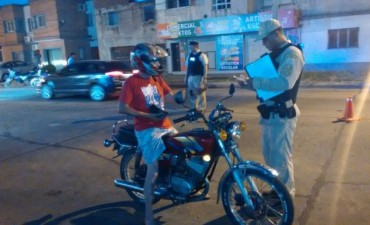 Secuestran cinco motos en distintos operativos