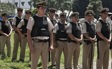 Llegan 60 efectivos de Prefectura Naval para reforzar la seguridad en la ciudad