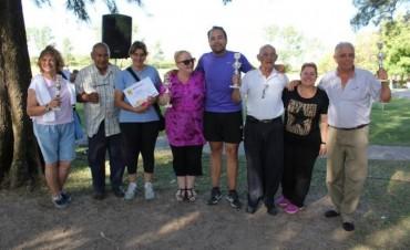 Campana participó del Encuentro Deportivo de Adultos Mayores 2016