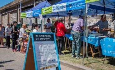 """El programa nacional """"El mercado en tu barrio"""" llega este sábado a Campana"""