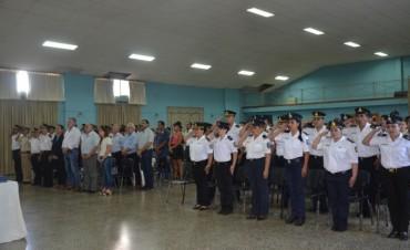 Abella acompañó el acto por el 136° aniversario de la creación de la Policía de la Provincia de Buenos Aires