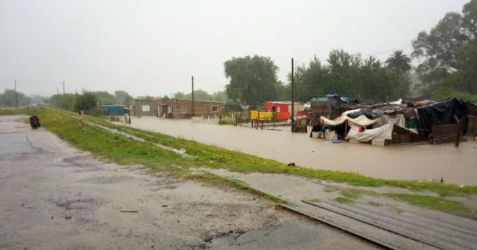 Pergamino: 300 evacuados por las inundaciones