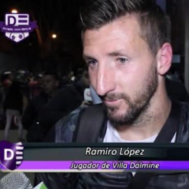 Ramiro Lòpez: preparamos el partido para volver con los tres puntos