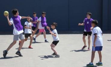 Se realizó un Encuentro Intercolegial de Handball