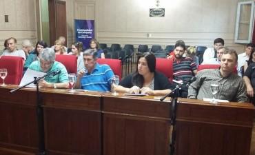 Homenajes realizados en la sesión del Honorable Concejo Deliberante