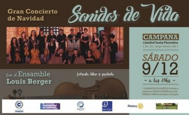 """""""Sonidos de Vida"""": este sábado habrá un gran concierto navideño"""