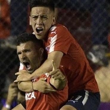Independiente de Avellaneda derrotó a Flamengo de Brasil por 2 a 1