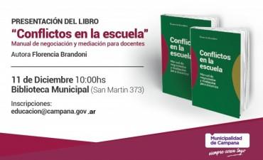 Se presentará el libro Conflictos en la escuela