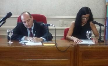 Asumieron los concejales electos en el Honorable Concejo Deliberante