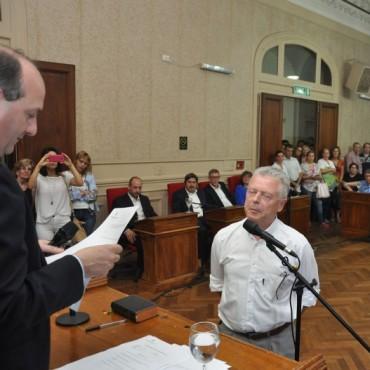 Las sensaciones de los Concejales electos del bloque P.J-Unidad Ciudadana luego de su juramento