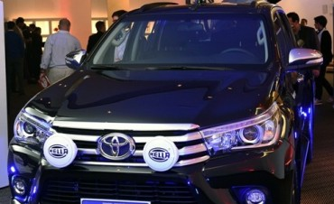 Toyota amplía su línea de accesorios originales para Hilux