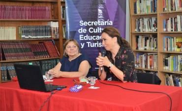 Florencia Brandoni presentó su libro sobre conflictos en la escuela