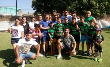 Cambiemos organizó un torneo de fútbol infantil solidario