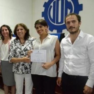 Abella acompañó el egreso de más de 300 alumnos del Centro Profesional Nº 405
