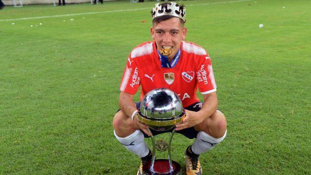 Ezequiel Barco: Nunca me imaginé salir campeón en Brasil