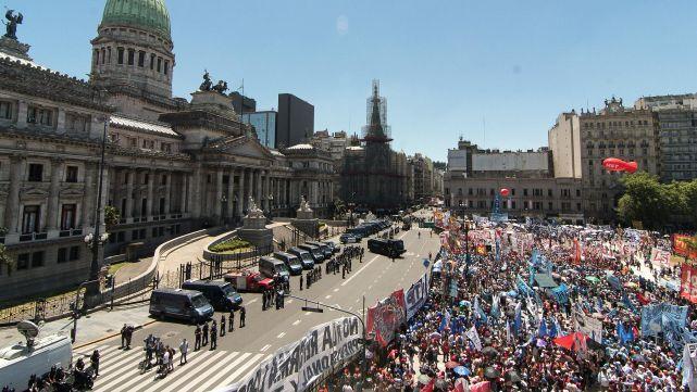 Nueva marcha el lunes contra la reforma previsional