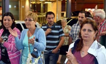 En Campana también hubo una marcha por la muerte del fiscal Nisman