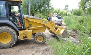 El Municipio concretó tareas de limpieza en Las Acacias