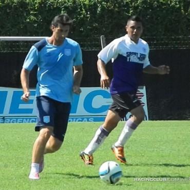 Villa Dálmine disputó ante Racing Club su tercer partido amistoso de pretemporada