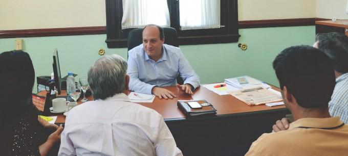 """HCD: Sergio Roses """"Vamos a debatir y trabajar diversos temas en conjunto con todos los Concejales""""."""