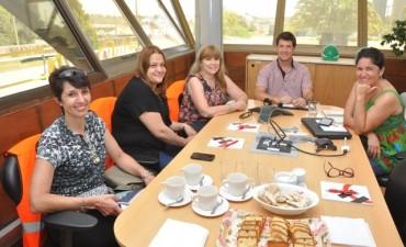 El Municipio y la empresa Holcim mantuvieron una reunión de trabajo