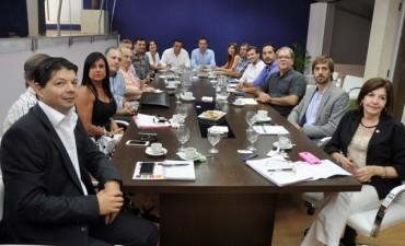 Primera reunión entre los gabinetes de Campana y Zárate