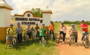 Se realizará una bicicleteada hasta la Reserva Natural Otamendi