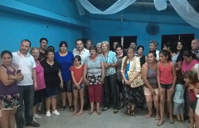 El Intendente se reunió con vecinos del barrio Albizola