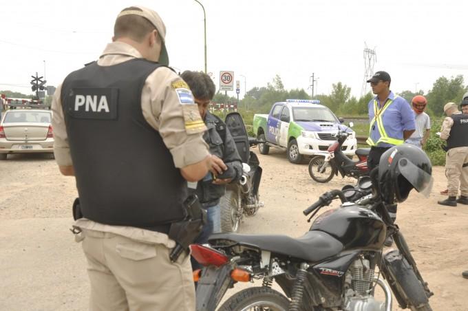 Se realizó un importante operativo de saturación en barrio San Cayetano