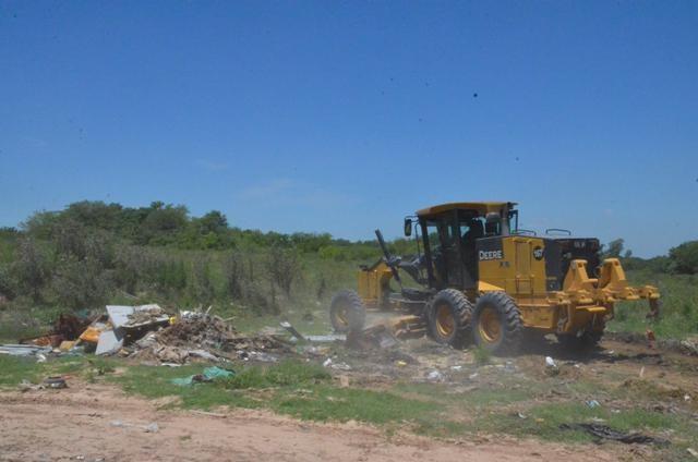 El Municipio realiza tareas de mantenimiento integral en barrio San Jacinto