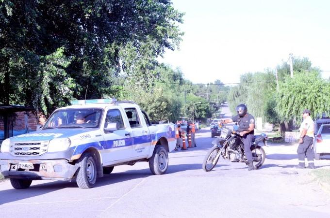 Seguridad: fuerzas nacionales, provinciales y locales realizaron un operativo de saturación en tres barrios