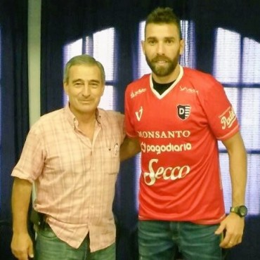 Sebastián Blázquez ya es jugador de Villa Dálmine