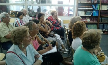 Envejeciendo positivamente: dictarán una nueva charla para adultos mayores
