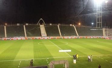 Se suspendió el partido entre Racing Club y Gimnasia y Esgrima de La Plata