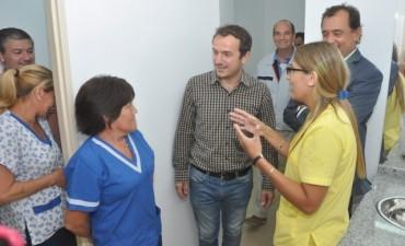 El Intendente inauguró obras de reforma y remodelación en el hospital municipal