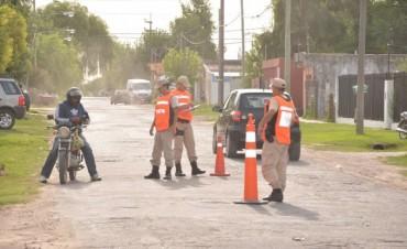 Fuerzas de seguridad realizaron nuevos operativos coordinados de prevención del delito