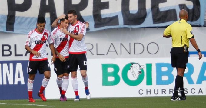 River Plate derrotó a Millonarios 1 a 0
