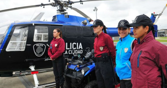La nueva Policía de la Ciudad de Buenos Aires en funciones