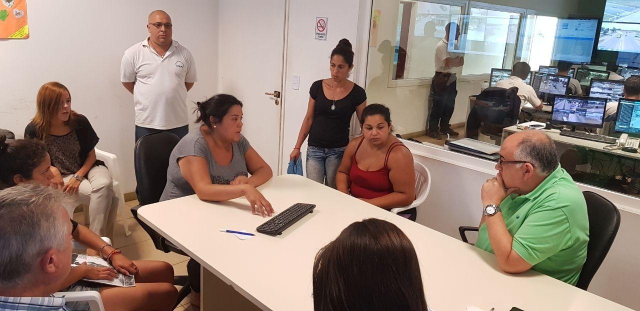 Funcionarios de la Secretaría de Seguridad se reunieron con familiares de Pablo Soria