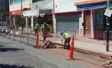 Comenzaron los trabajos de embellecimiento y remodelación de la Rocca