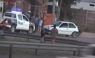 En forma inmediata, multan a una conductora ebria y secuestran su vehículo