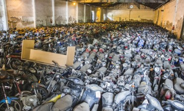 Durante 2017, el Municipio secuestró más de 1.200 motos por infracciones