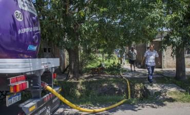 El servicio atmosférico del Municipio ya llegó a más de 1.000 familias