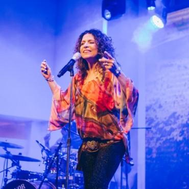 Patricia Sosa deslumbró con su voz en Mar del Plata
