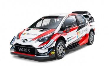TOYOTA GAZOO Racing presenta el Yaris WRC para la temporada 2018
