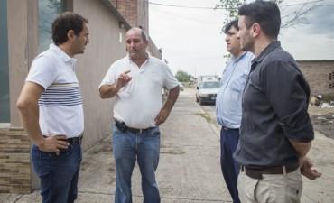 El intendente Sebastian Abella anunció obras en la terminal del servicio de Chevallier