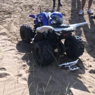 Cuatriciclos: Un nene de 7 años murió en la playa.